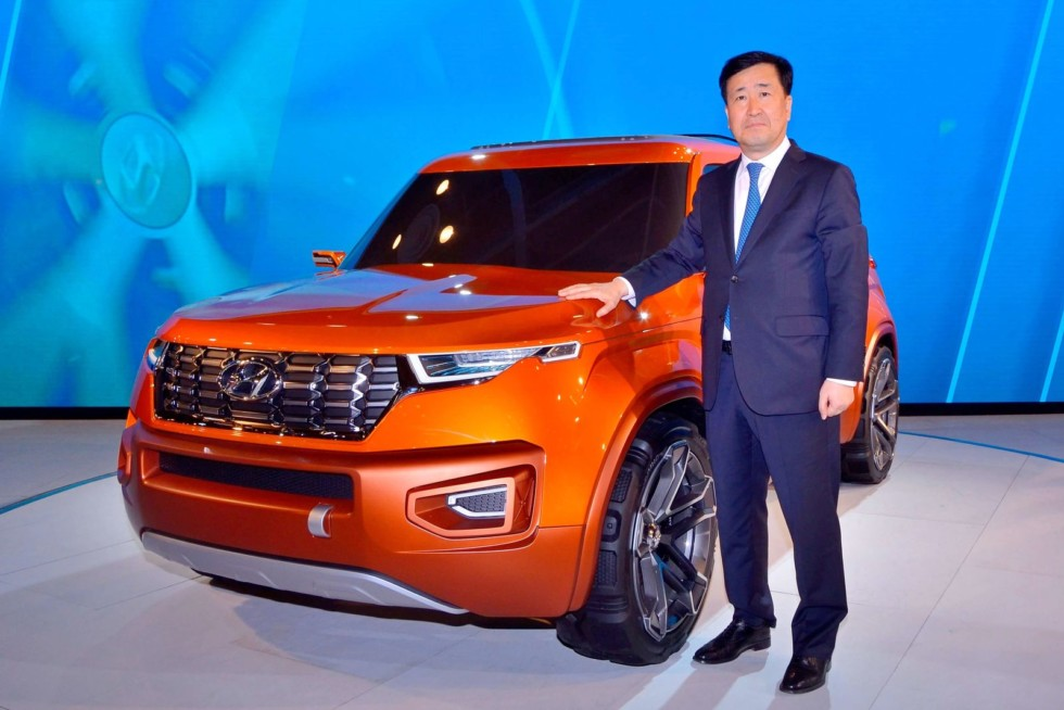 Новый бюджетный кроссовер Hyundai Он будет похож на бульдога