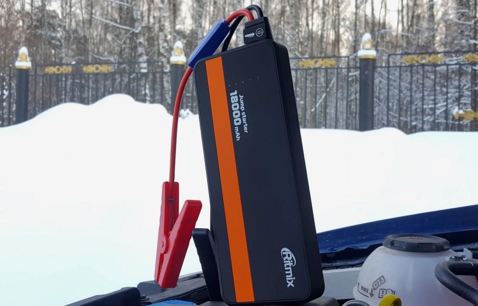 Для машины, лодки и палатки: тест пускового устройства Ritmix RJS-18000