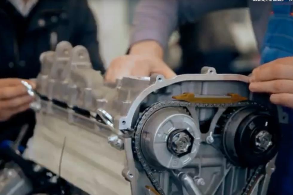 Двигатель автомобилей Aurus пока так и не стал высокотехнологичным. Впрочем, главное - начать!
