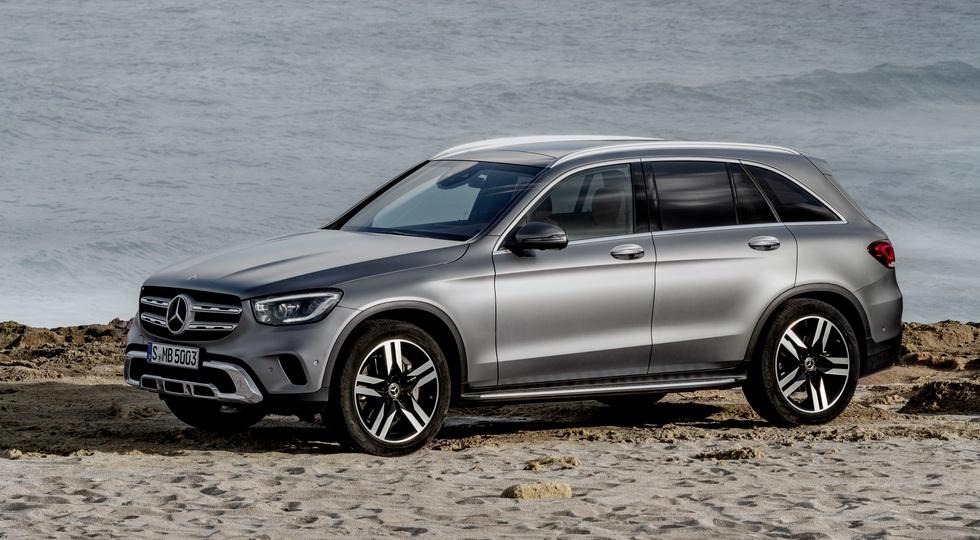 Mercedes-Benz GLC обзавёлся новыми моторами перед тем, как прописаться в России