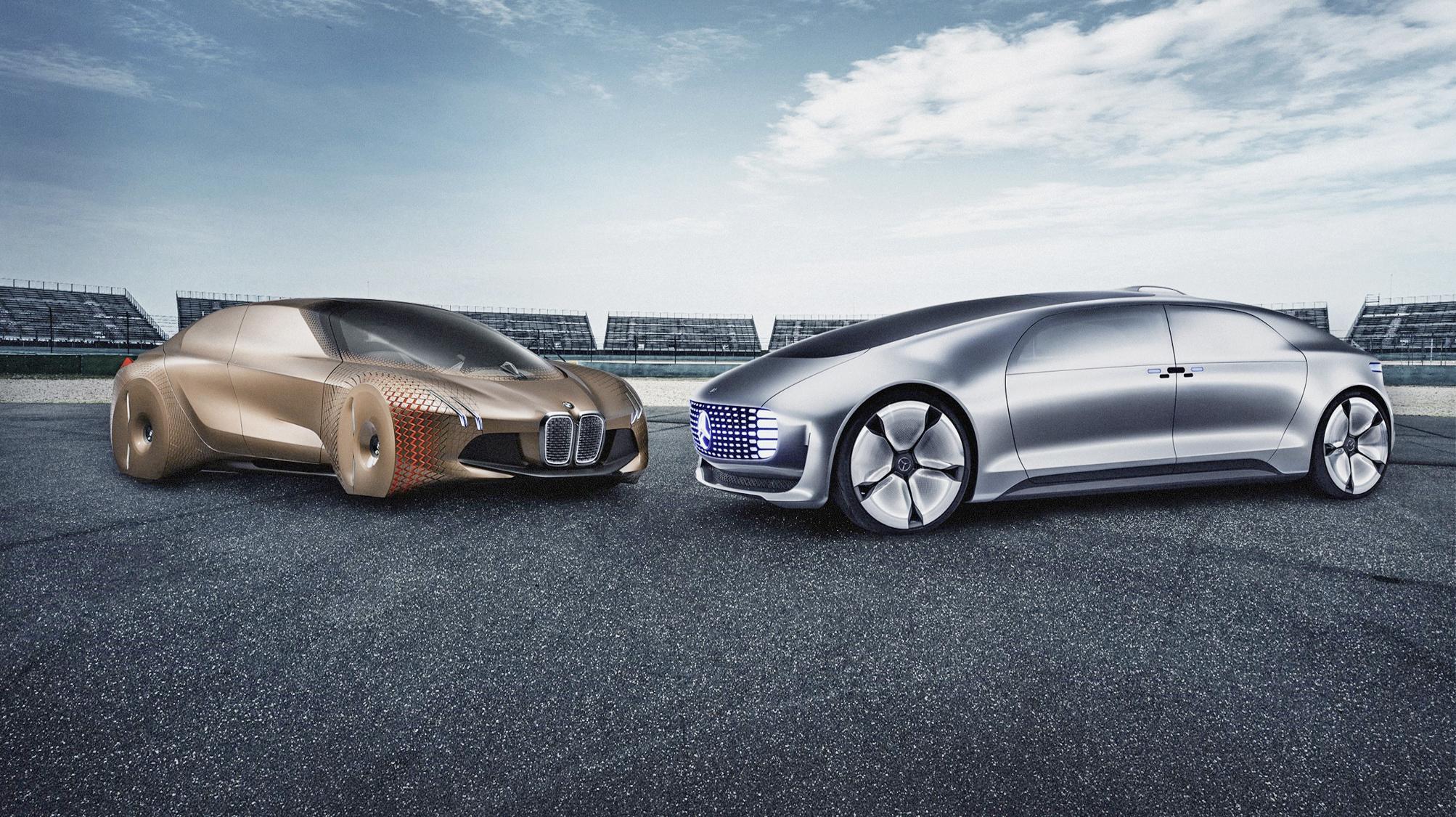 BMW и Daimler вместе отстранят водителей от руля. И уже довольно скоро