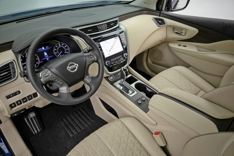 Обновлённый Nissan Murano для американского рынка