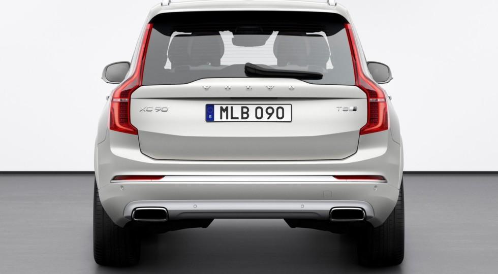Обновлённый Volvo XC90: торможение с пользой и новые версии на букву «В»