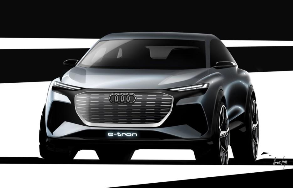 Audi анонсировала свой самый дешёвый электрический кроссовер