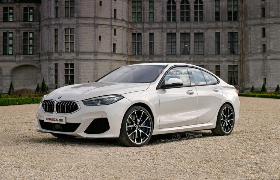 Новый BMW 2 Series Gran Coupe: первые изображения