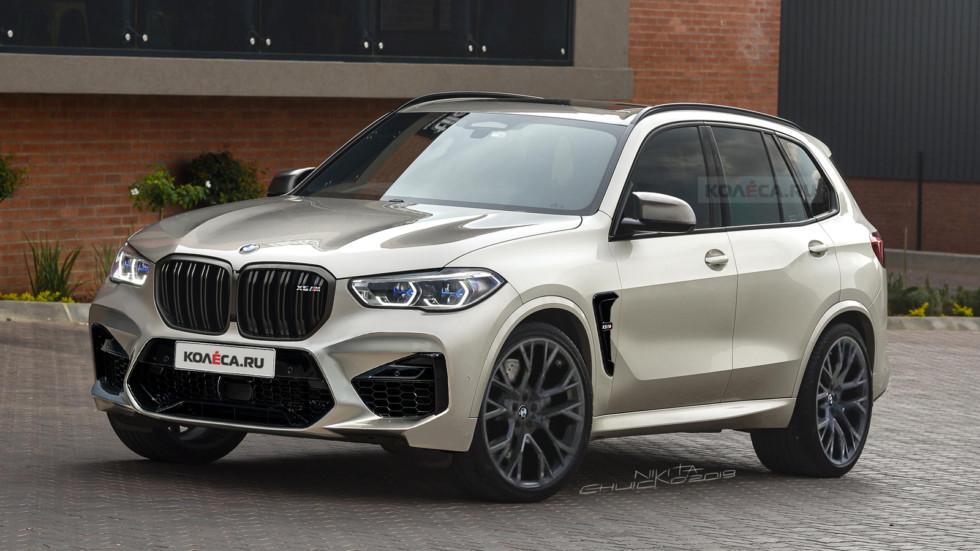 BMW X5M front1