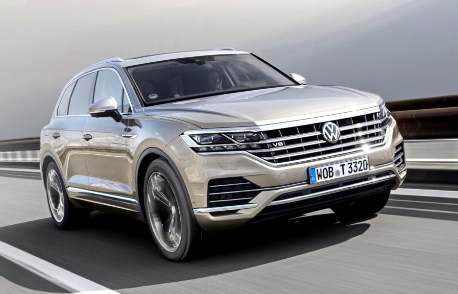 Возвращение супердизеля: новый VW Touareg снабдили мотором V8 TDI