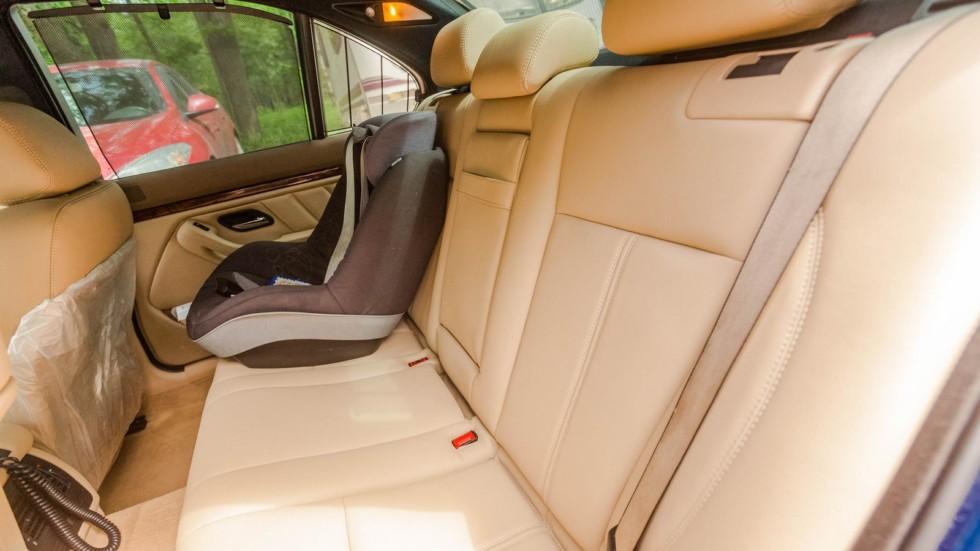 салон BMW 5 series E39