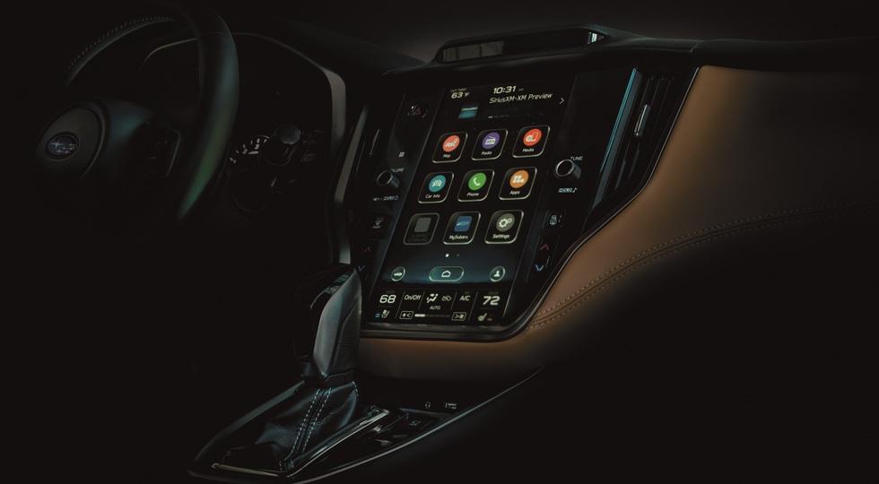 Теряющий покупателей седан Subaru Legacy сменил поколение: эволюция экстерьера и планшет, как у Volvo