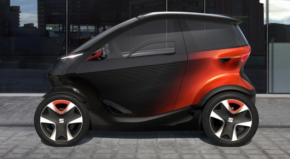 Seat Minimo: попытка переосмысления провального Renault Twizy