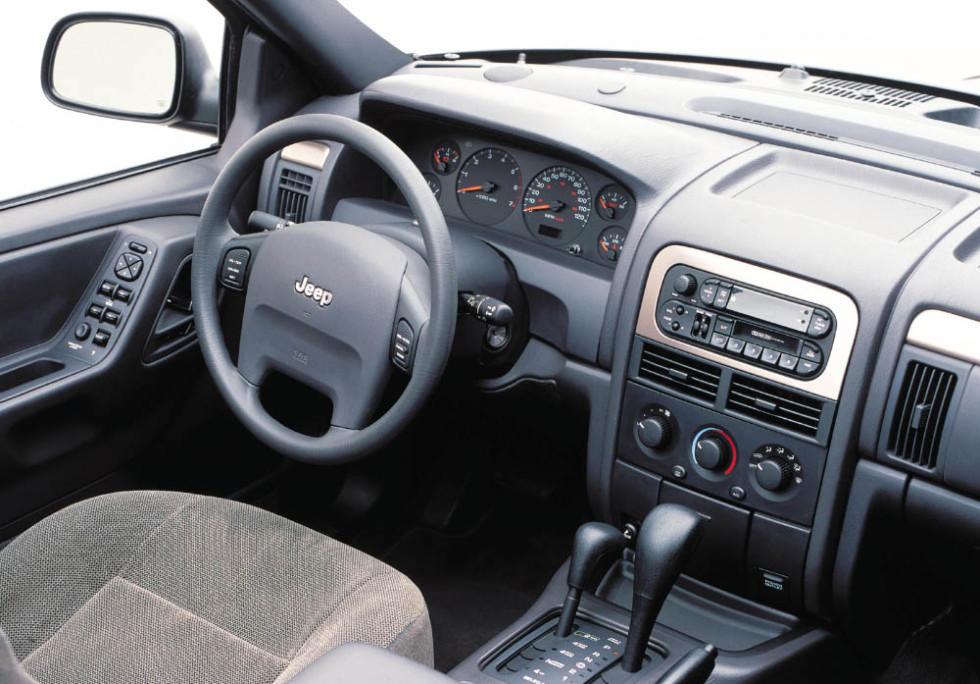 Салон Jeep Grand Cherokee (WJ) '1999–2004