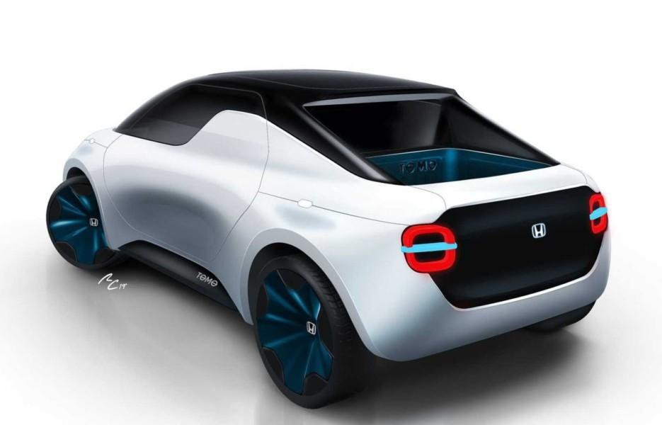 Девушки потом: Honda анонсировала микропикап и гигантскую панель приборов