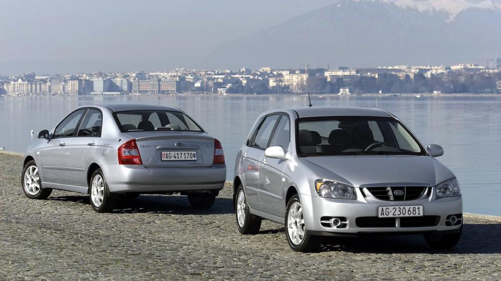 Kia Cerato (LD) '2004–08