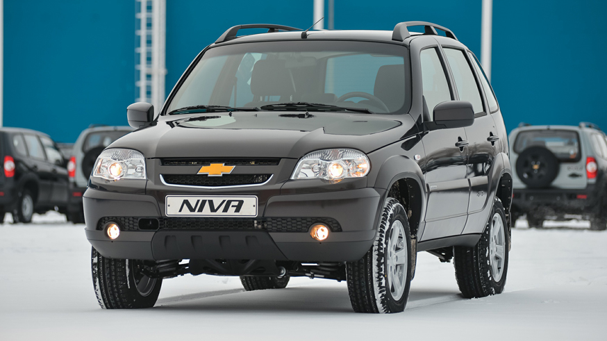 На фото: Chevrolet Niva