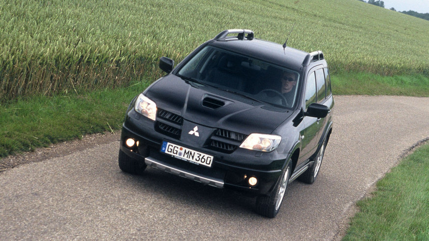 Mitsubishi Outlander Turbo '2004–06