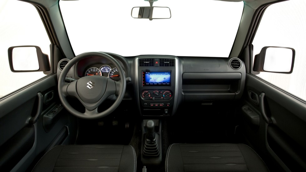 Салон Suzuki Jimny (JB) '2013–18