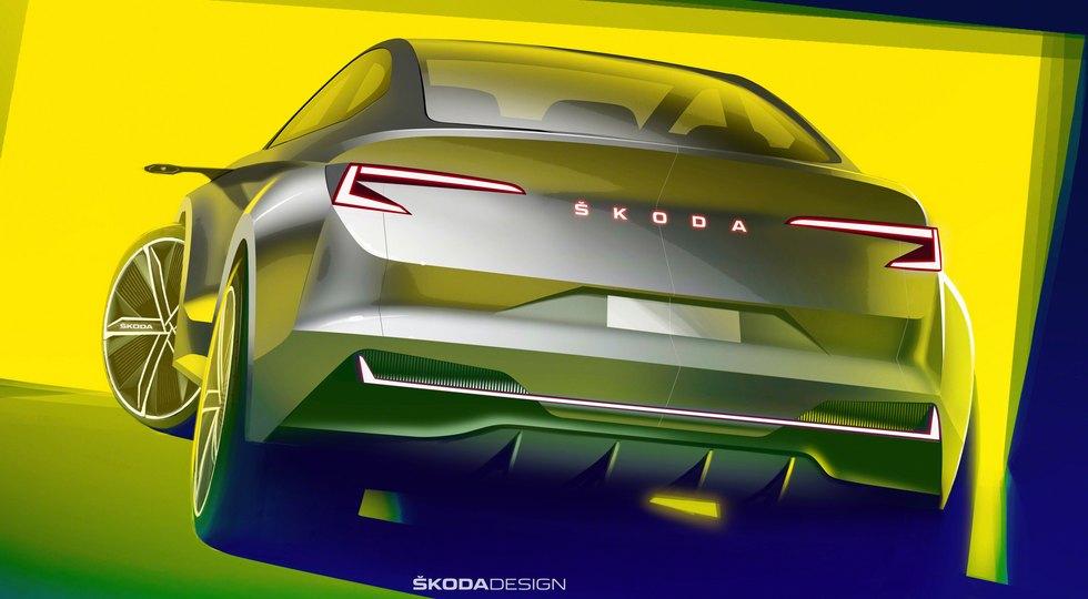 Концепт Skoda Vision iV