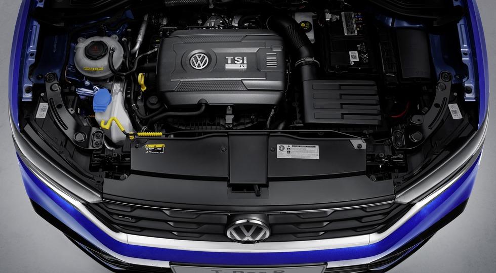 Паркетник VW T-Roc R: 300 л.с. и время разгона до «сотни», как у «горячего» BMW X2
