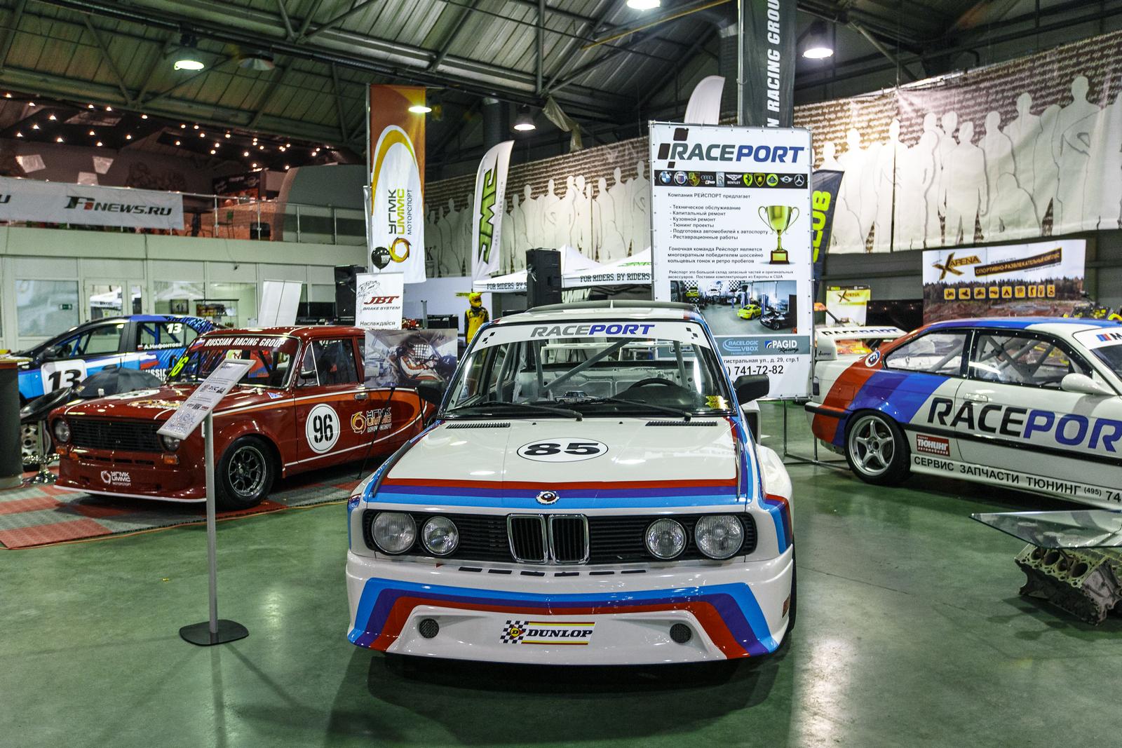 Время заряжаться драйвом на Motorsport Expo 2019