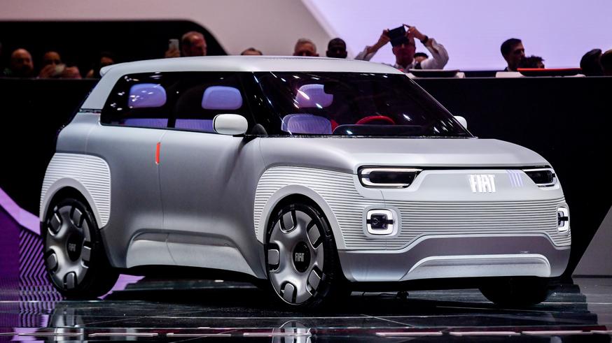 Salone dell'automobile di Ginevra 2019- Stand FIAT