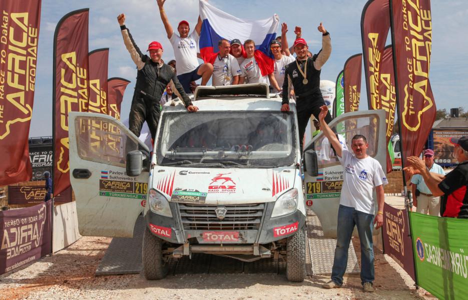 Как русские «маршрутки» проехали «настоящий» Дакар?!