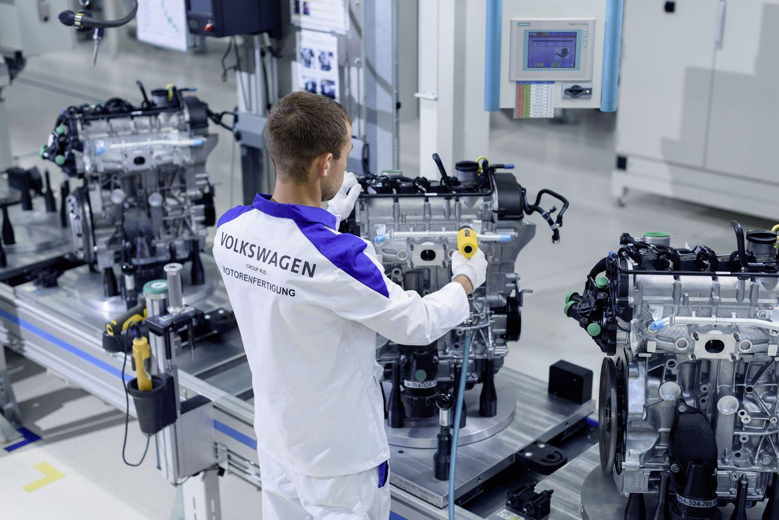 VW хочет делать в Калуге турбомоторы и удвоить выпуск атмосферников - Колеса.ру