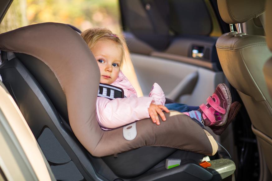 Родители «забывали» об автокресле и ремне безопасности в каждом восьмом ДТП с ребёнком