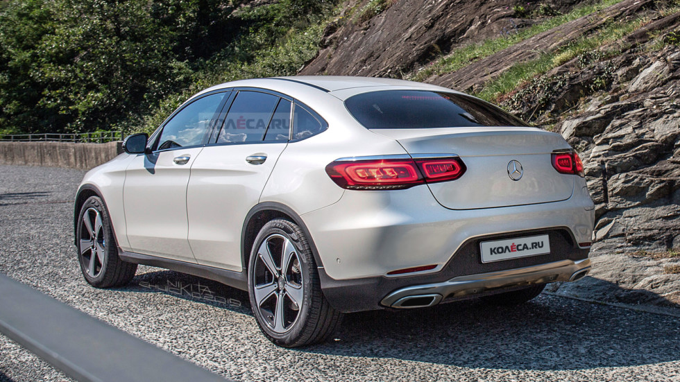 Mercedes-Benz GLC Coupe rear1