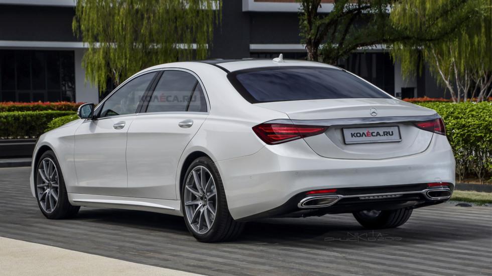 Новый Mercedes-Benz S-класса W223: первые изображения