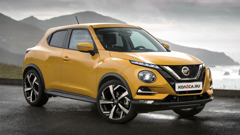 Новый Nissan Juke: первые изображения