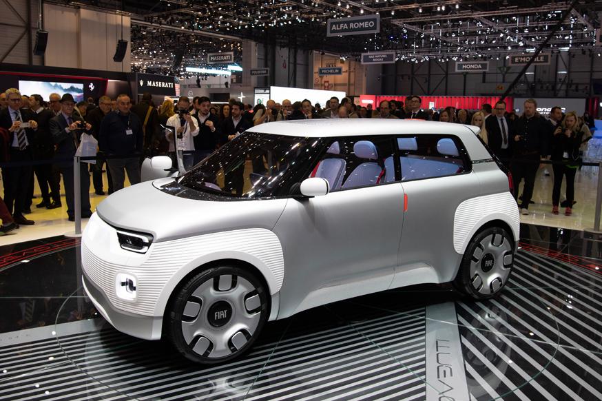 Автомобиль-конструктор Centoventi: предвестник новой генерации бестселлера Fiat