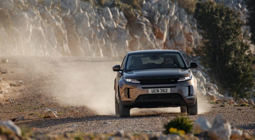 Лапти разбить об пол: тест-драйв нового Range Rover Evoque