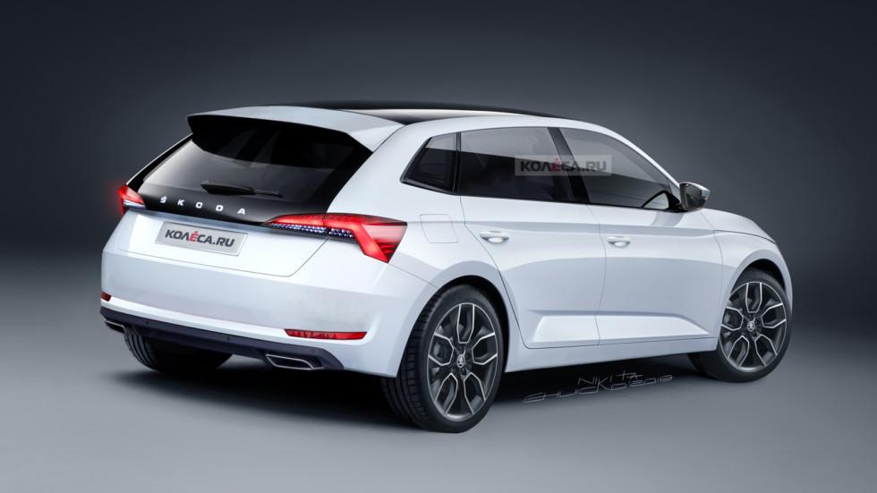 Skoda Rapid new rear1