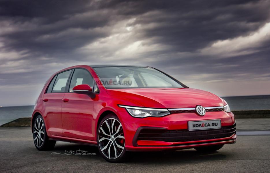 Volkswagen Golf VIII: новые изображения