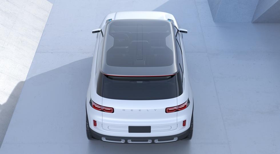 Кроссовер Geely с «начинкой» Volvo сохранил дизайн предвестника. Даже «иксы», как у Lada