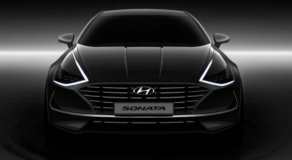 Hyundai Sonata-2020: купеобразный кузов, новые моторы и кнопочный «автомат»