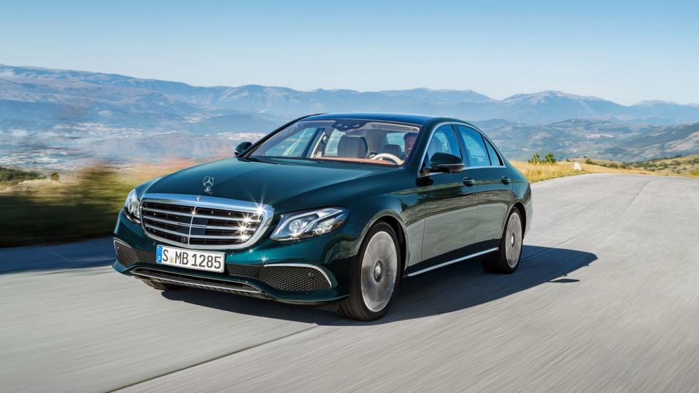 Mercedes-Benz E 350 e Exclusive Line (W213) '2016–н.в.