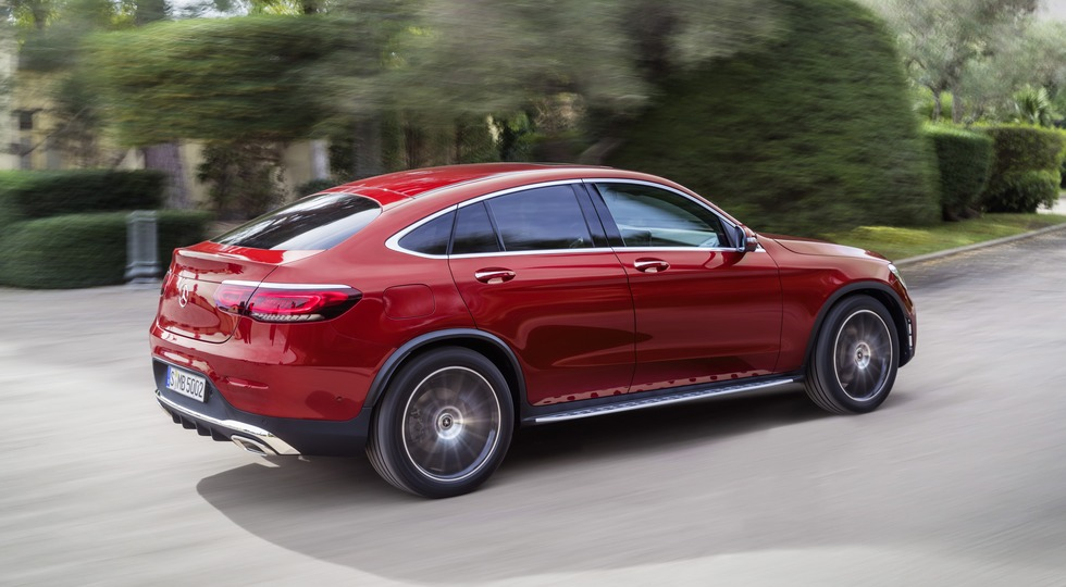 Mercedes-Benz GLC Coupé (C253), 2019