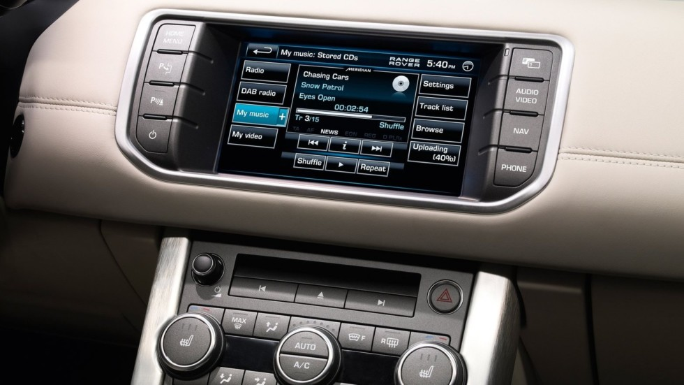 Салон Range Rover Evoque