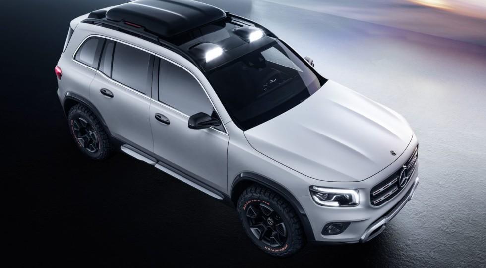 Mercedes-Benz GLB: угловатый кроссовер возьмёт на борт семерых