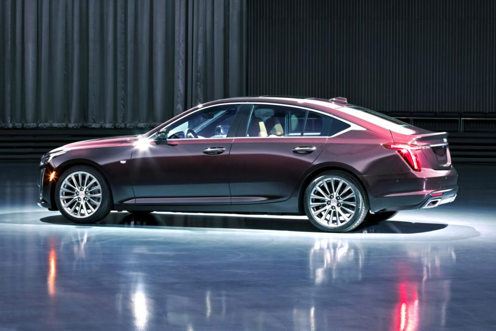 The CT5 Premium Luxury showcases Cadillac's unique expertise i