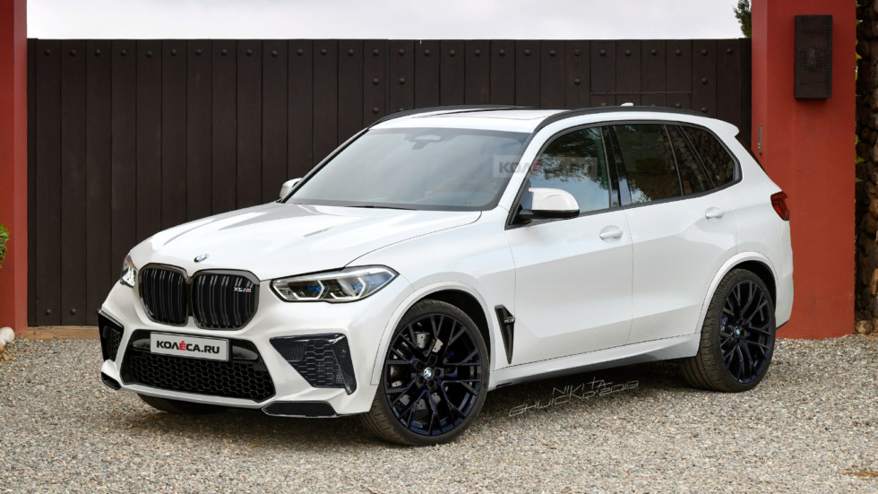 BMW X5M F95 new front1