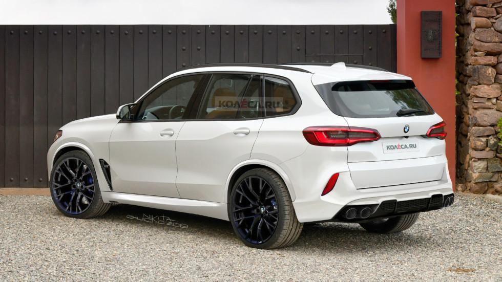 BMW X5M F95 new rear1