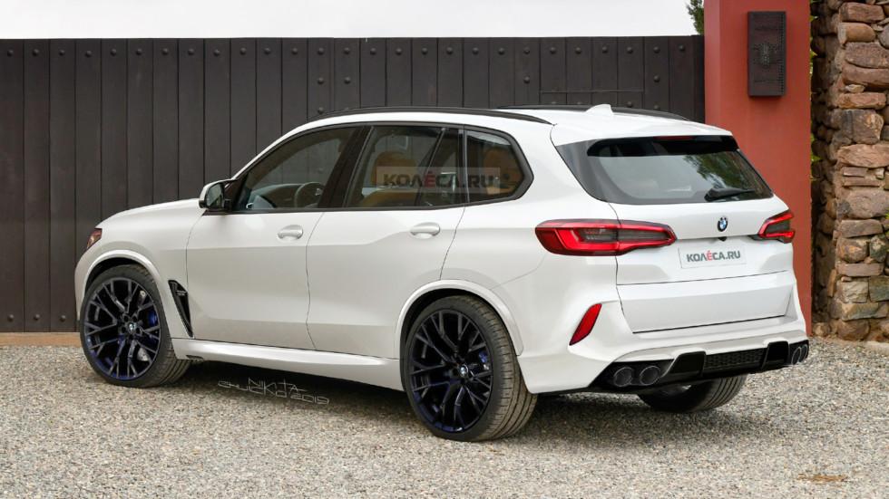 BMW X5 M F95: новые изображения
