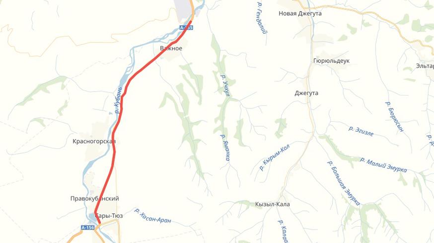 Новый участок трассы к российским курортам откроют в 2019 году