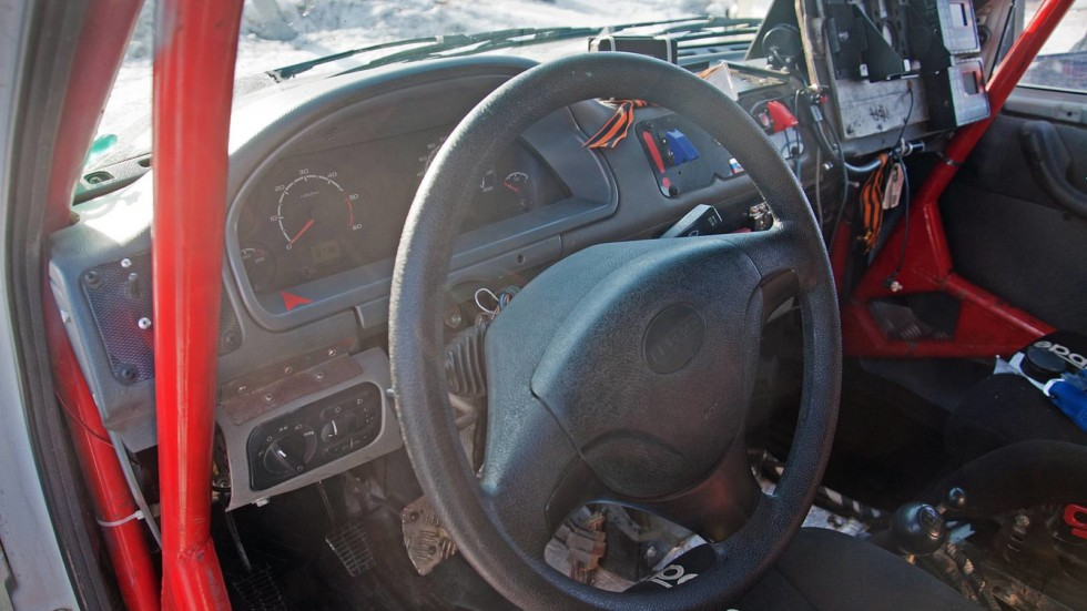 Хаха офигенно: тест-драйв раллийного УАЗ-23632 Пикап