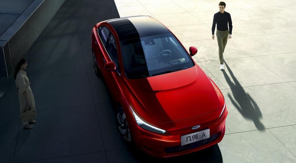 У Geely появилась своя Tesla: представлен новый глобальный суббренд Geometry