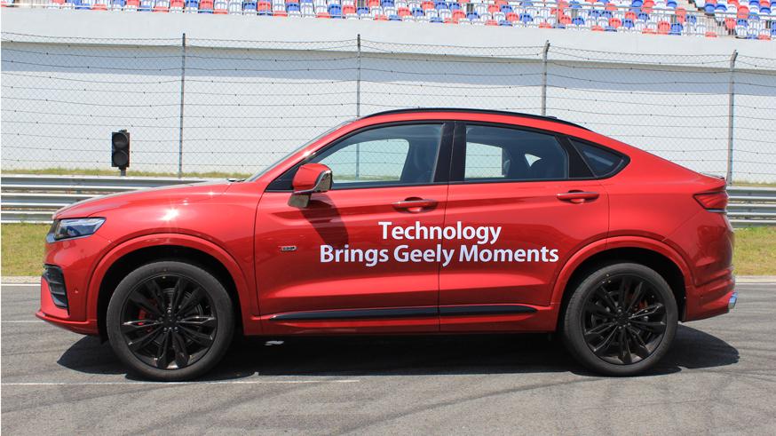Альтернативу BMW X4 от Geely привезут в Россию