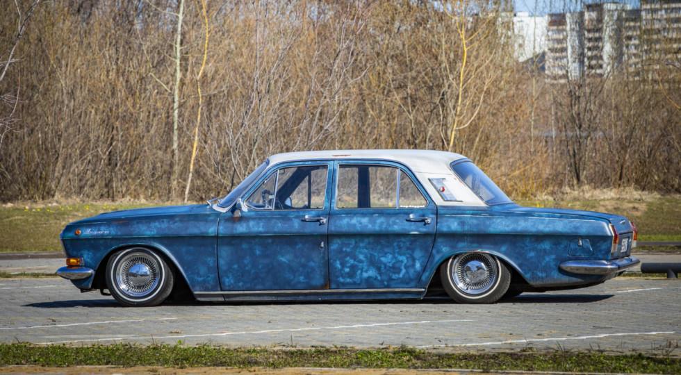 Старина в прыжке: тюнинг ГАЗ-24