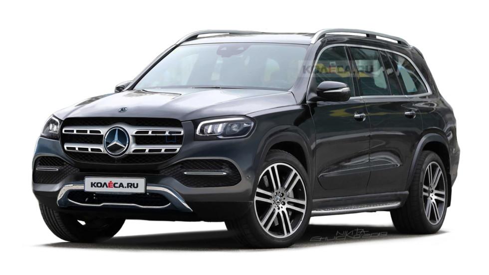 Mrcedes-Benz GLS front2